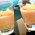crème aux poires