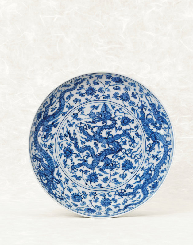 2013_HGK_03266_3116_000(a_rare_blue_and_white_dragon_dish_zhengde_four-character_mark_within_d115013)