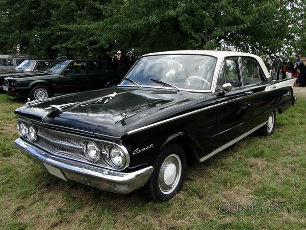 mercury comet 4door sedan 1960 a