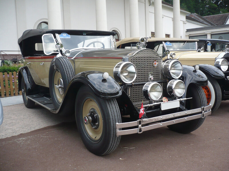 PACKARD Eight 343 Sport Touring 1927 Baden Baden (1)