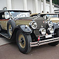 Packard eight 343 sport touring 1927