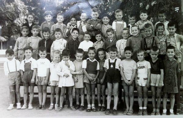 Gueliz Cours Préparatoire 1956-57