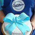 Gâteau noeud cours Wilton bow