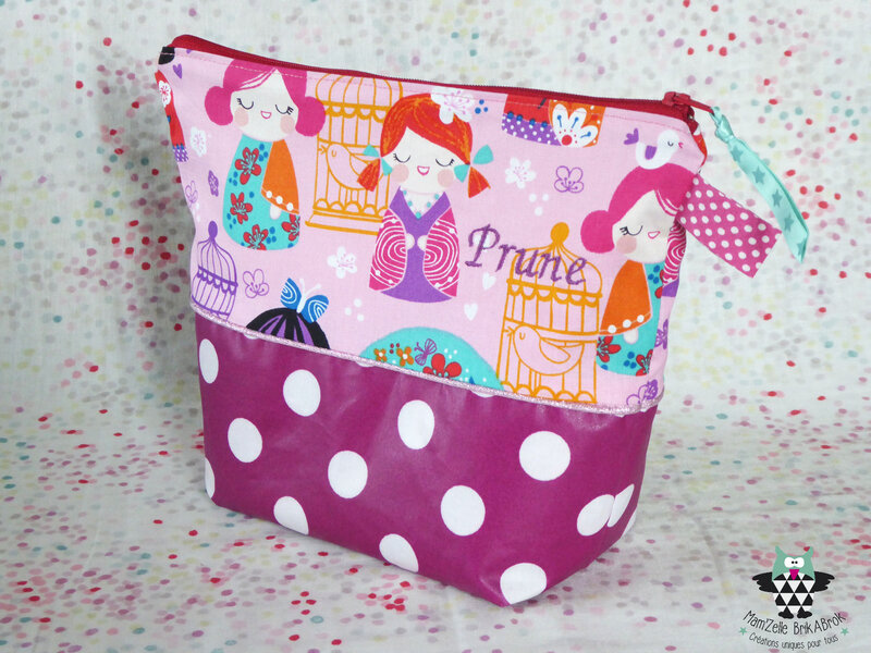 Trousse de toilette PRUNE