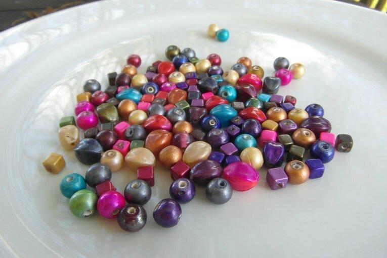 perles satinées rondes carrées 3