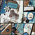 Un aperçu de projet d'atelier : mini album
