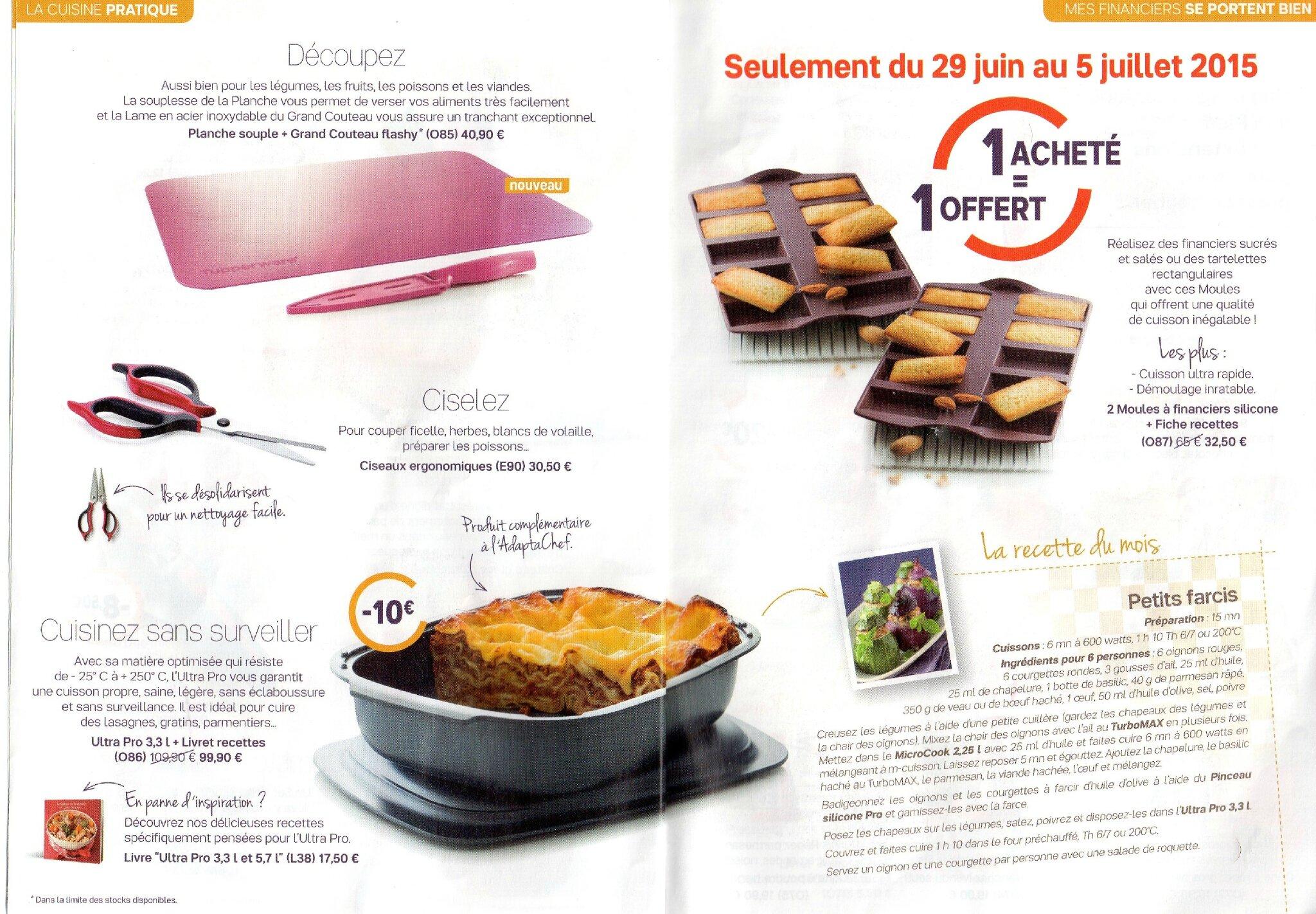 Tupperware Du Soleil Dans La Cuisine P4 5 Photo De Les Promos