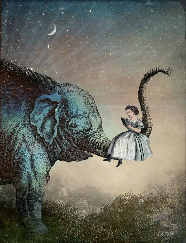 Catrin Welz-Stein - German Surrealist Graphic Designer - Tutt'Art@ (47)