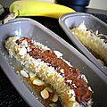 Bananes au chocolat & noix de coco en papillote