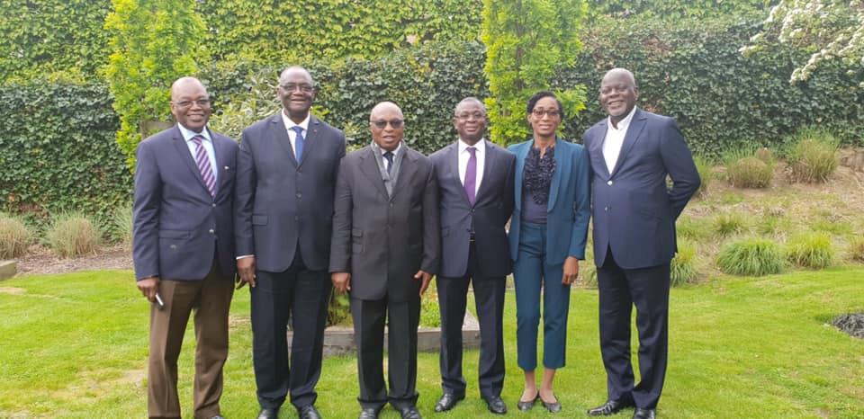 Le Président Laurent Gbagbo reçoit les émissaires du PDCI-RDA mandatés par le Président Henri Konan Bédié