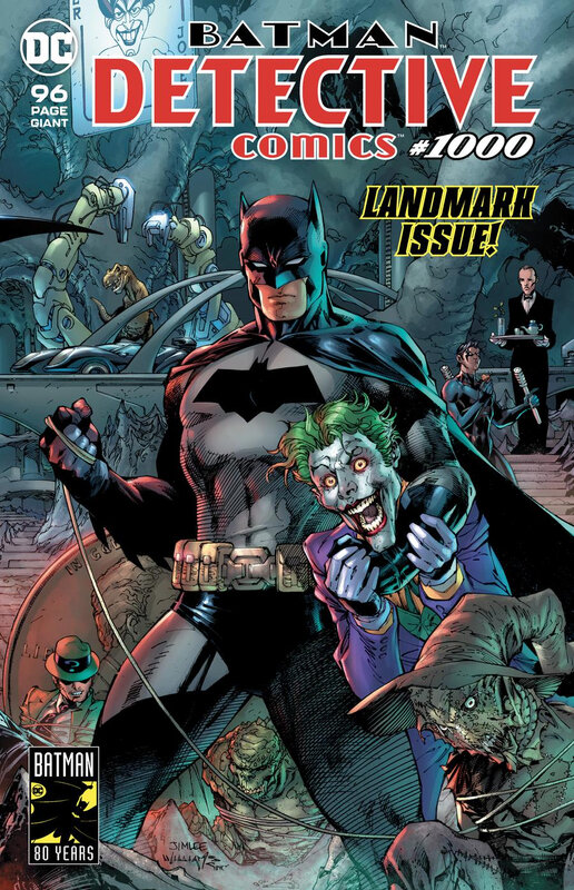 rebirth detective comics 1000 jim lee