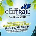 EcoTrail de Paris 2013