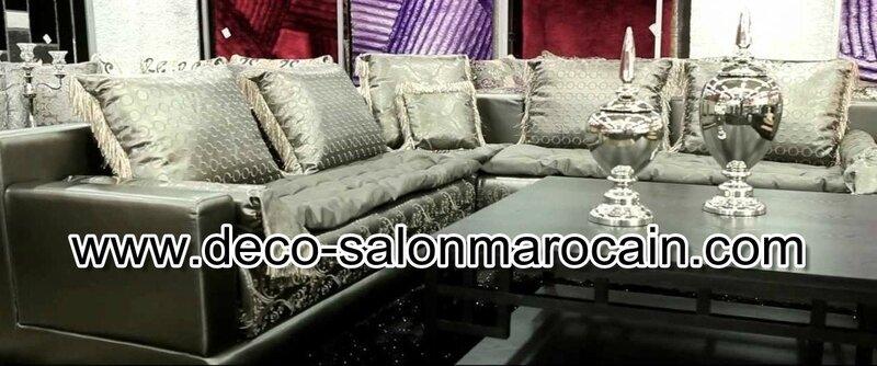 Décoration salon marocain