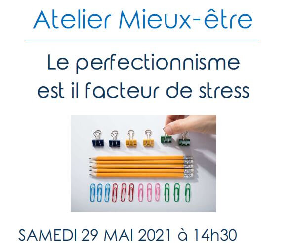 Atelier Perfectionnisme 29052021