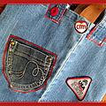 Un autre cabas en jean's recyclé