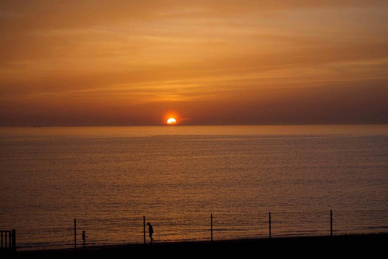 coucher de soleil Chatelaillon - 1