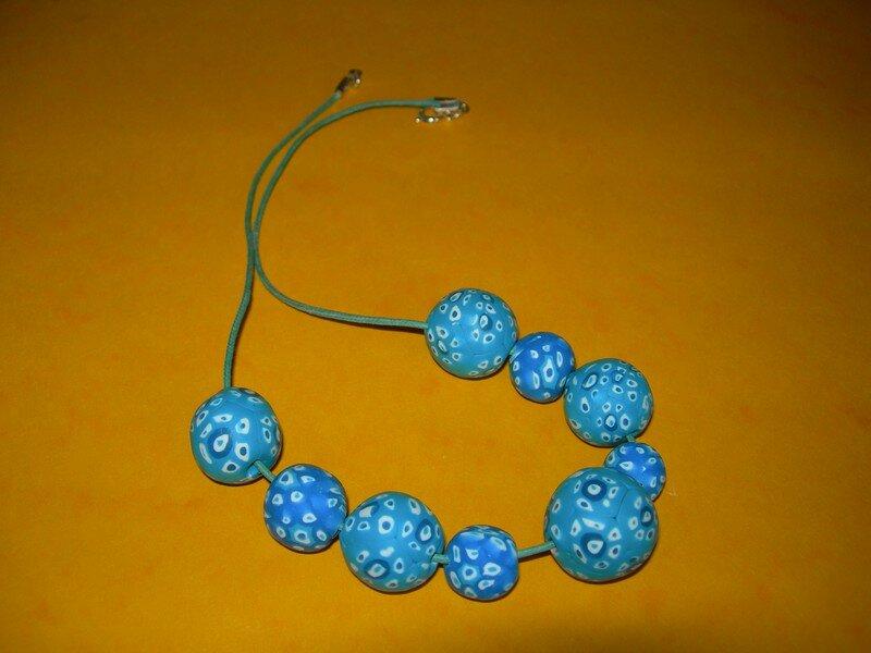 le millefiori bleu