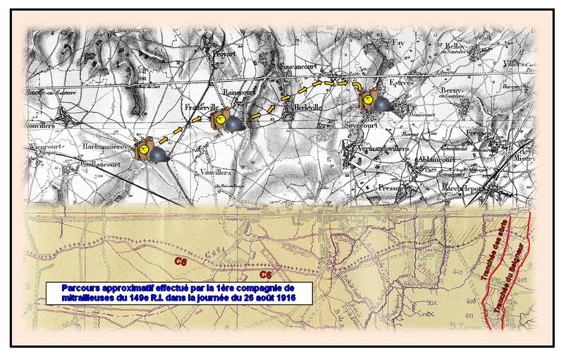 Carte 1 Paul Porte la Somme