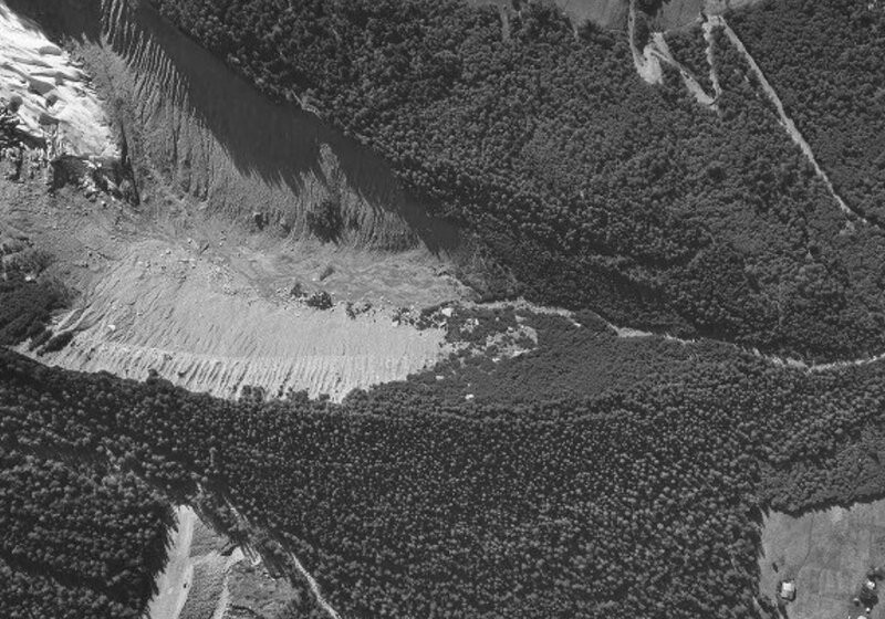 ancienne moraine bossons 1960