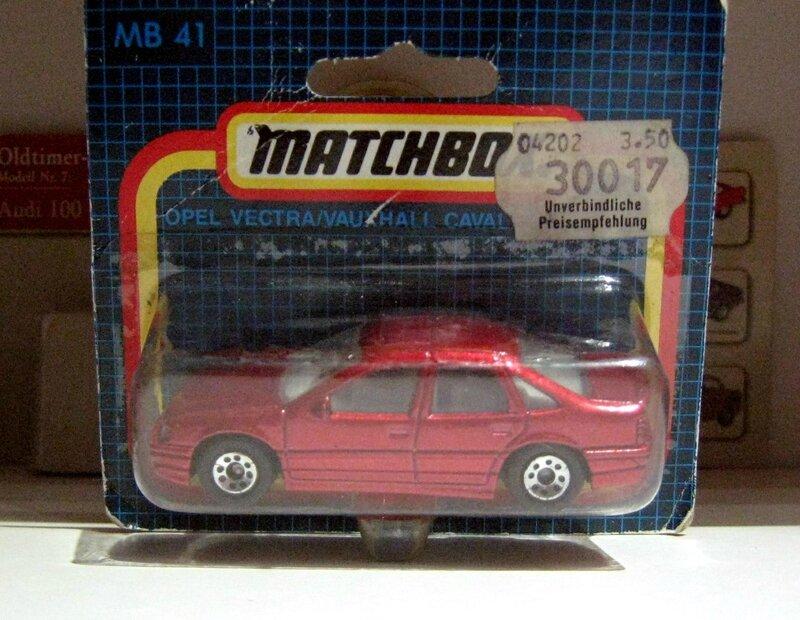 Opel vectra (Matchbox)