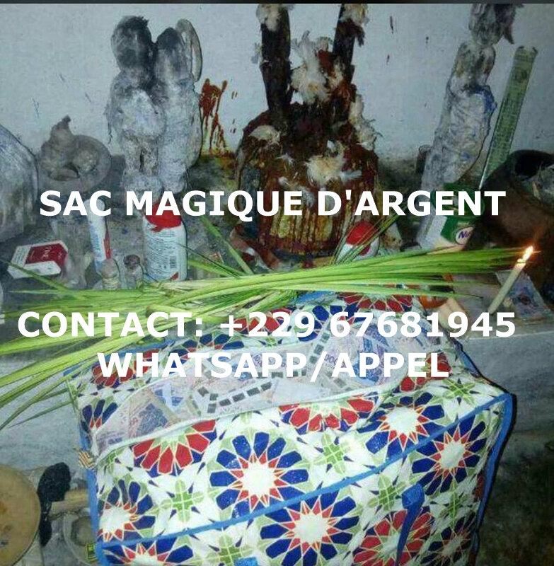 SAC MAGIQUE D'ARGENT