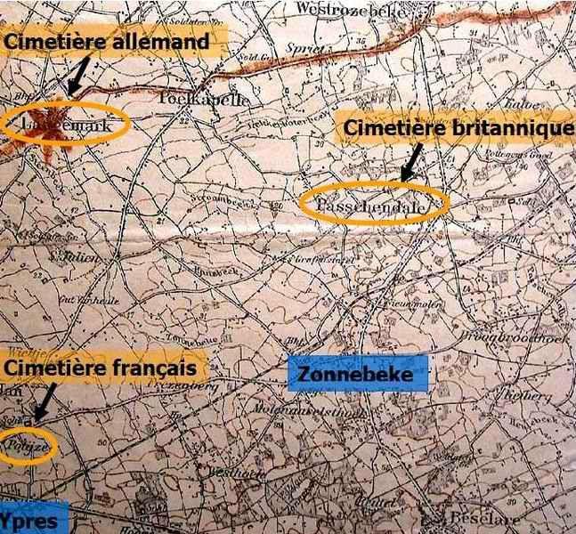 Cimetières belgique