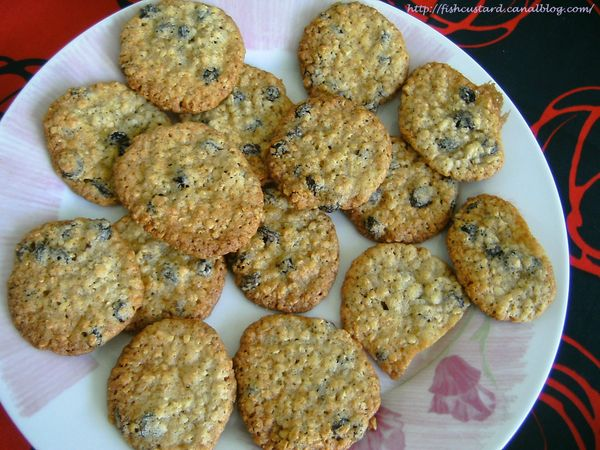 Cookies avoine-raisins (2)