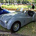 Triumph TR3 roadster avec kit carrosserie (1955-1957)(37ème Internationales Oldtimer Meeting de Baden-Baden) 01