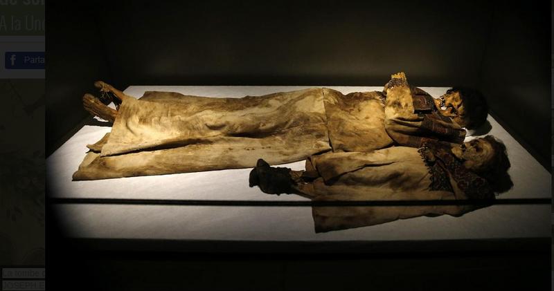 des momies découvertes dans la vallée de Qadicha au Liban
