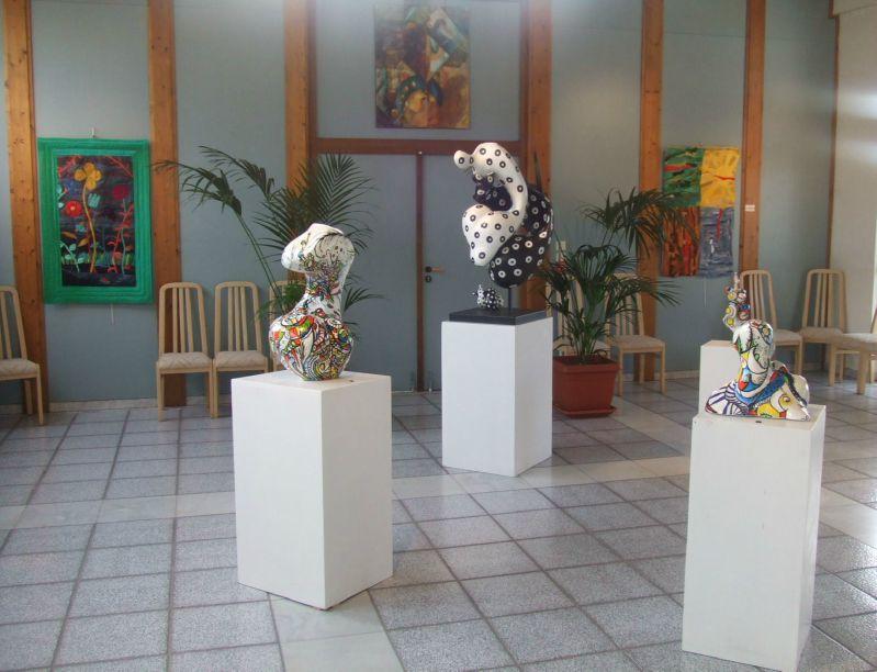 TEXTILE ART AND SCULPTURE EXHIBITION - CANNES - March, 2011