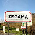 Zegama, panneau (Espagne)