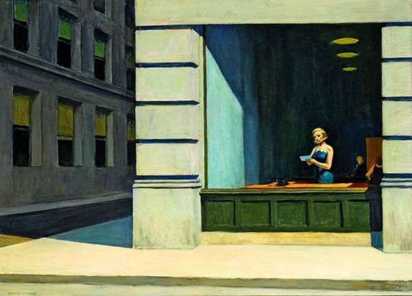 edward-hopper New York office 1962-