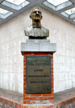 Avesnes-sur-Helpe-Monument Léon Pasqual
