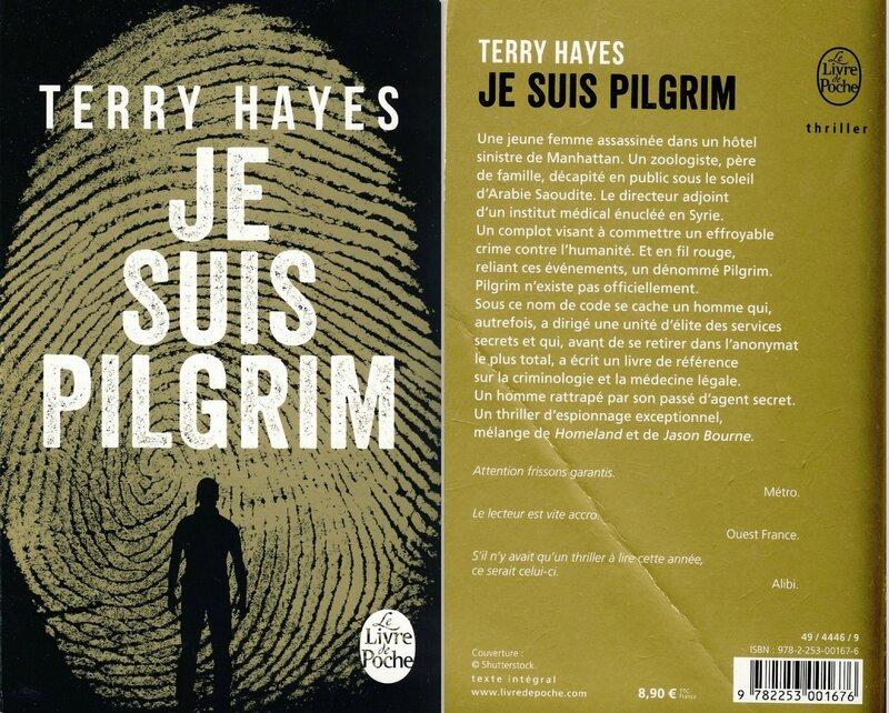 1 -Je suis Pilgrim - Terry Hayes