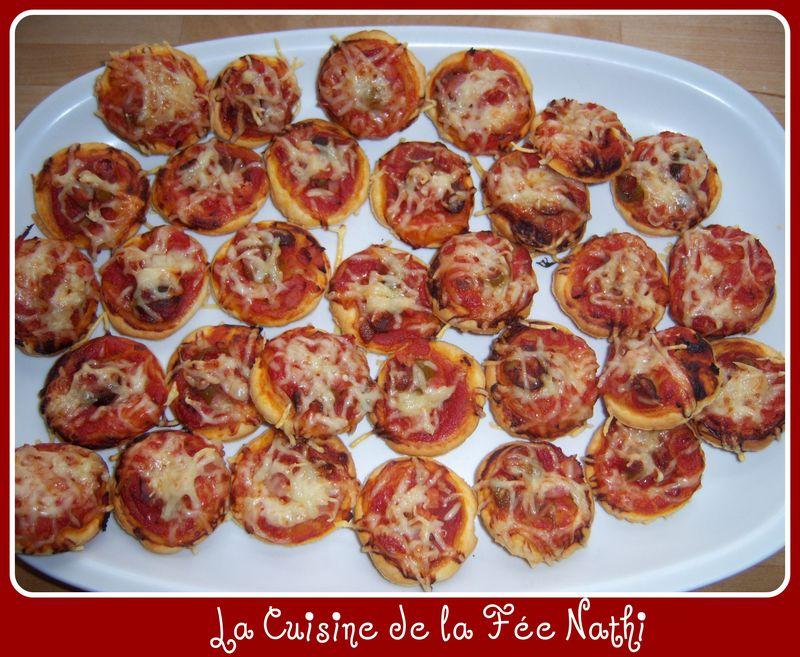 Feuilletes Aperitif Facon Mini Pizzas La Cuisine De La Fee Nathi