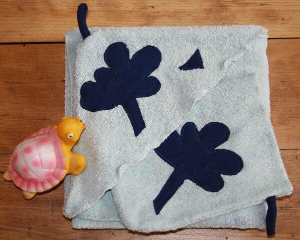 Sortie de bain coton bio lalilalo créations et récréations (2)