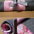 Trousse Gris Thorpe Rose