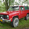 CHEVROLET Blazer K5 2door pick-up baché Madine (1)