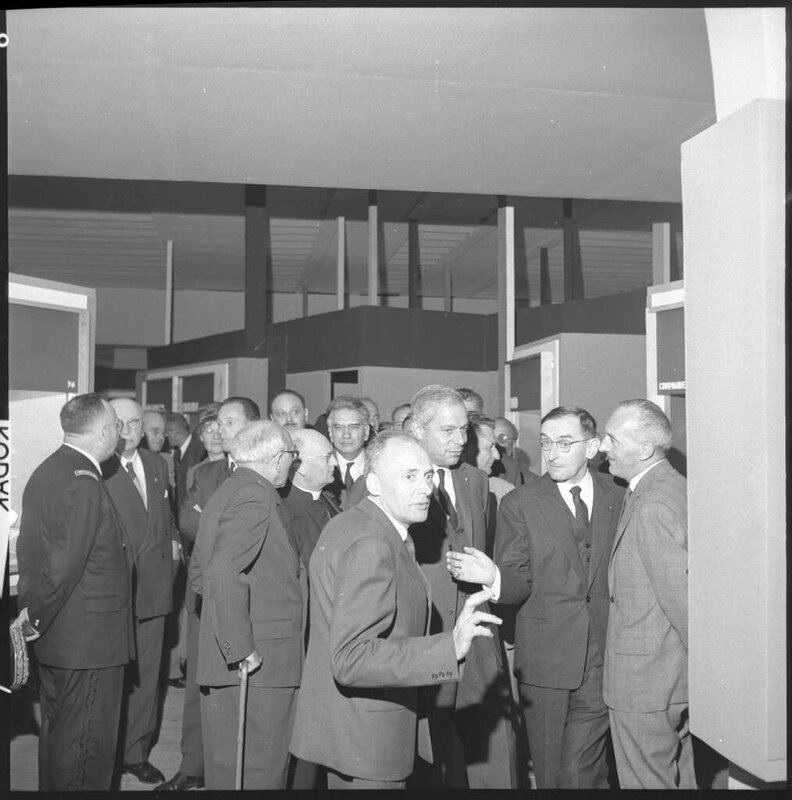 CETEHOR inauguration sept 62 A Donat