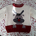 Red nose jumper kids by drops