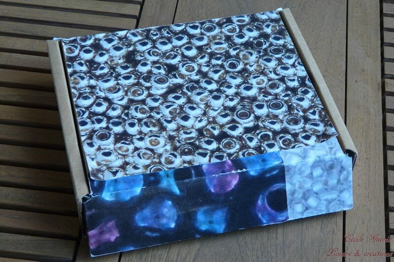 Petite boîte de rangements de perles japonaises - blog