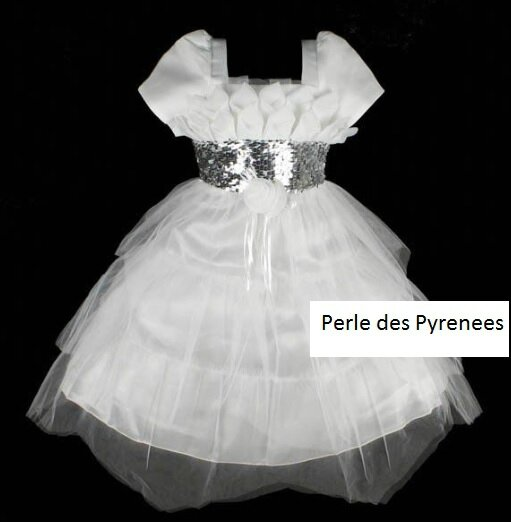 charme blanche strass