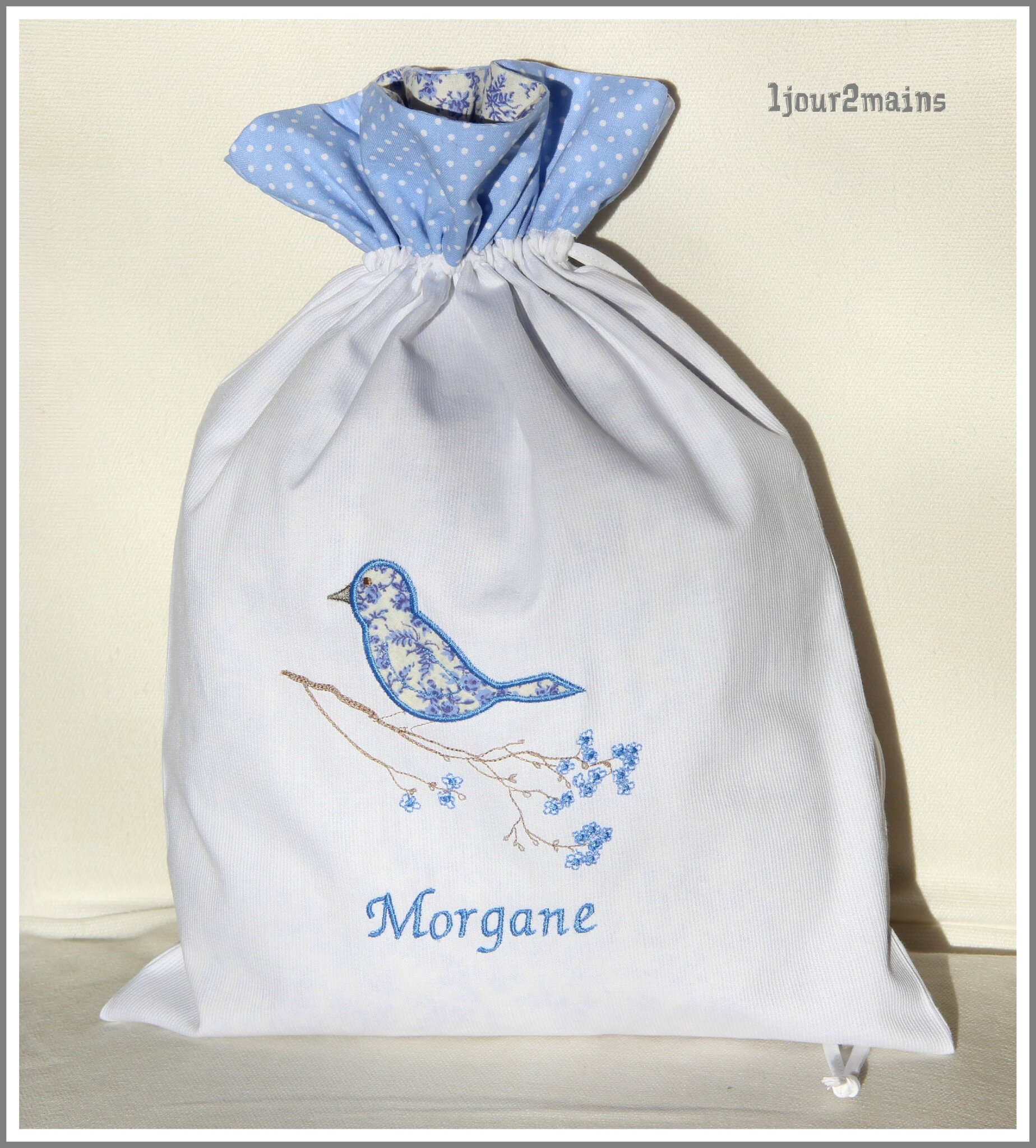 sac oiseau morgane