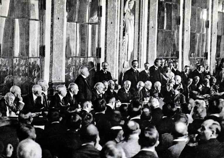 Capitulation allemande Versailles