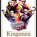 Kingsman services secrets - film action matthew vaughn - acteurs : michael caine - taron egerton - colin firth - samuel jackson