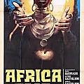 Africa ama (vue panoramique sur l'afrique primitive)