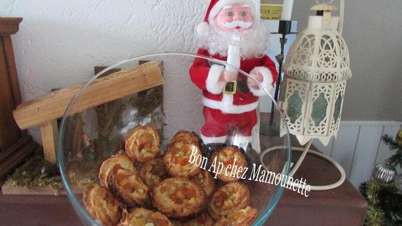 petites amandines à la macédoine de fruits confits 020-