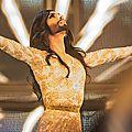 Conchita wurst en finale de l'eurovision 2014