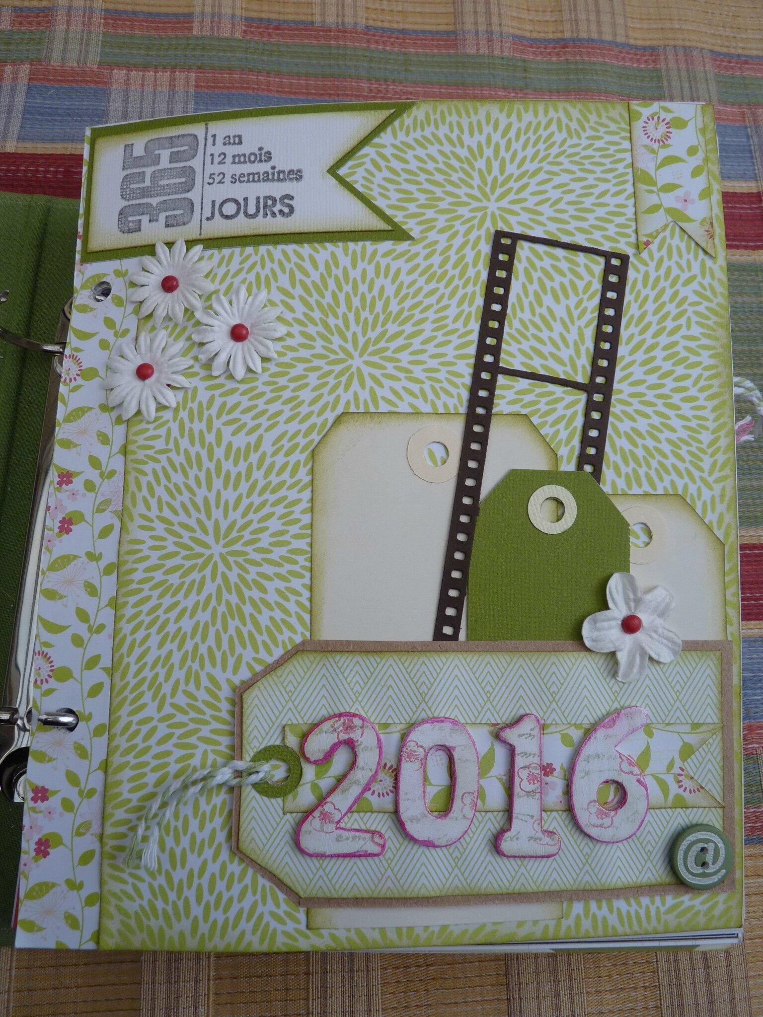 """Journal de l'année 2016 : c""""est parti"""