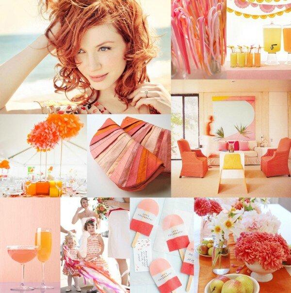 pink-yellow-orange-wedding-inspiration-board-600x606